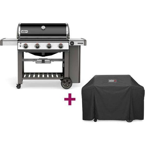 Barbecue Weber Genesis II E-410 GBS + Housse