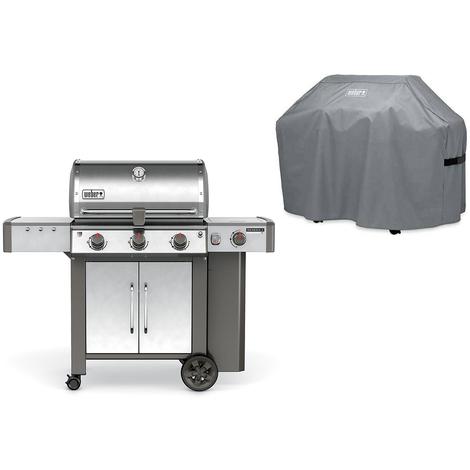 Barbecue Weber Genesis II LX S-340 GBS Inox + Housse