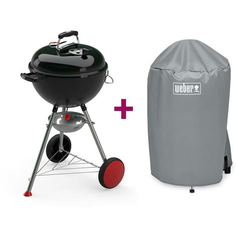 Barbecue Weber Kettle Plus 47 cm + Housse