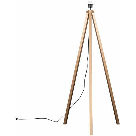 Barbro Tripod Floor Lamp Base - Copper