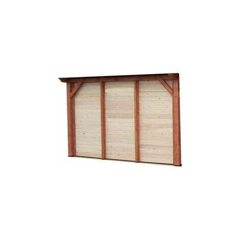 Bardage en bois traîté - compatible structure SP 3535.0