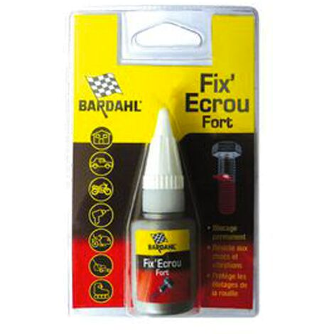 BARDAHL Fix ' Ecrou fort rouge frein filet fort 5mg