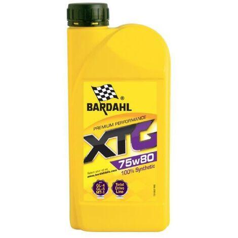 BARDAHL Huile boites et ponts XTG 75W80 EP - Bidon de 1 L
