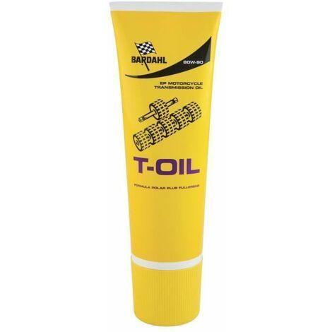 BARDAHL Huile de pont/boite moto T-Oil EP 80W90 - 250 ml