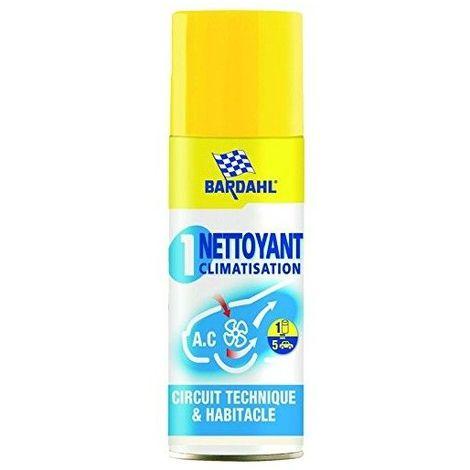 BARDAHL Nettoyant purifiant climatisation antibactérien 28.74
