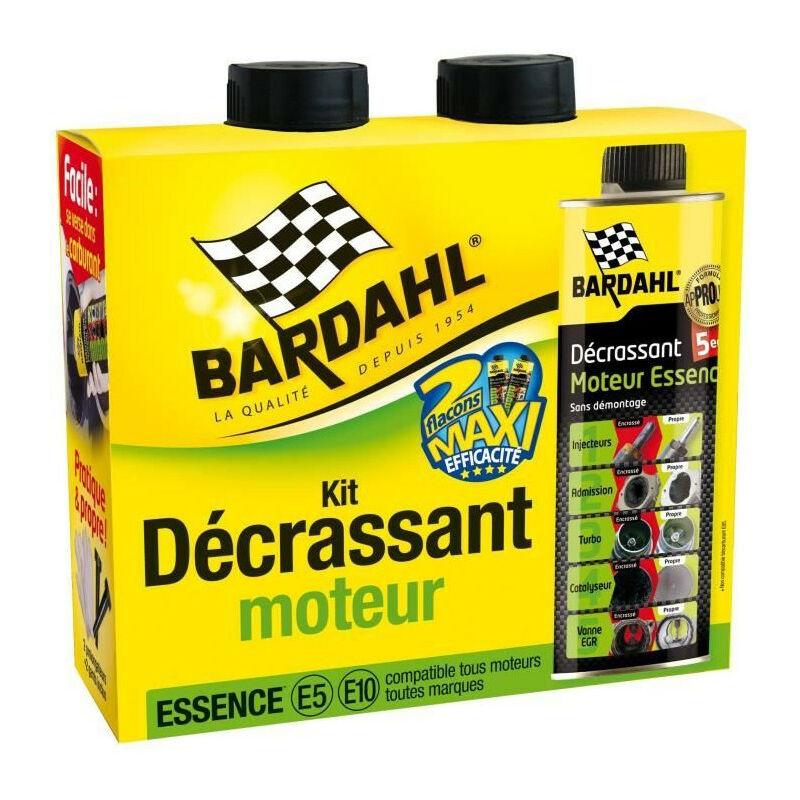BARDAHL Pack Décrassant moteur Essence 5 en 1 GSA