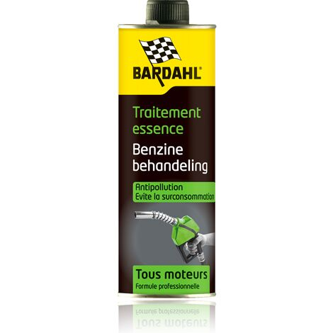 BARDAHL traitements carburant essence anti pollution réf:1069 300mL