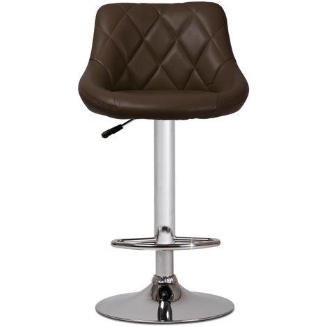 Barhocker Tresenhocker Stuhl Barstuhl mit Fußablage drehbar und höhenverstellbar