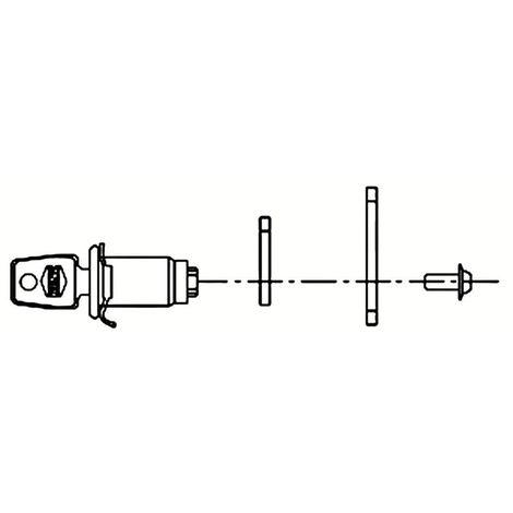 Barillet batteuse pour boîte aux lettres RENZ TSS Ronis - plusieurs modèles disponibles