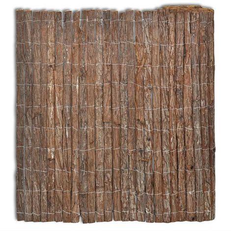 Bark Fence 400x125 cm