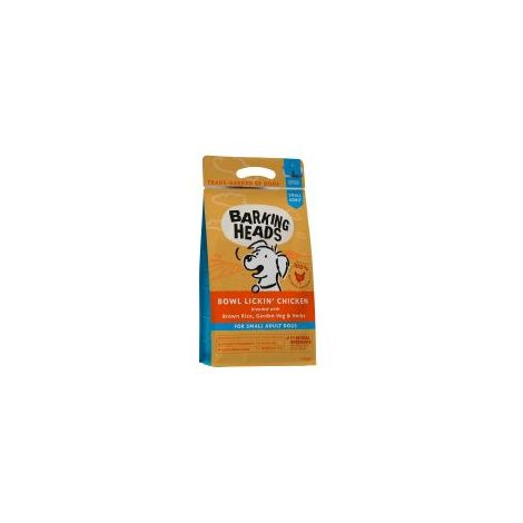 Barking Heads Small Breed Bowl Lickin' Chicken (Formally Tin - 1.5kg