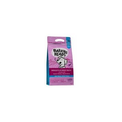 Barking Heads Small Breed Doggylicious Duck (Formally Tiny P - 1.5kg - 437308