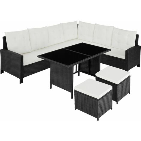 Barletta Rattan Garden Furniture Set, variant 1 - rattan garden furniture set, rattan garden furniture, lounge set