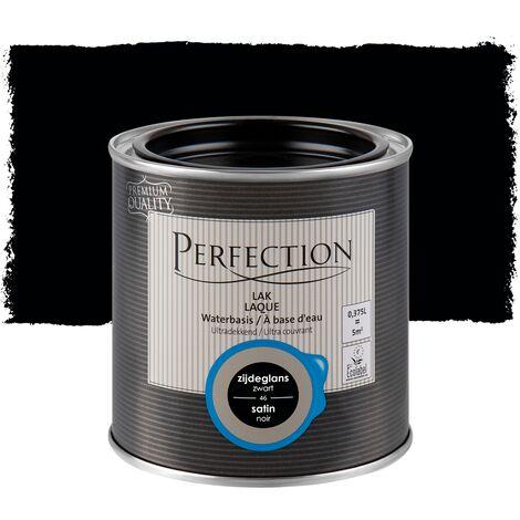 Barniz a base de agua, Perfection - Satinada - Gris dulce 17 - 750 ml - 10m² - Cobertura total - 17 Gris Suave