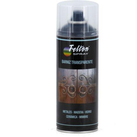 Barniz Acrílico transparente en spray 400ml Felton