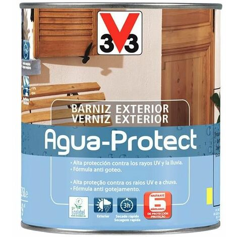 Barniz agua-protect exterior incoloro