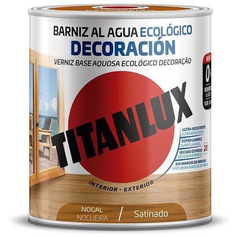 Barniz al agua Ecológico Decoración Satinado Titanlux