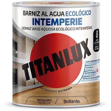 Barniz al agua Ecológico Intemperie Brillante Titanlux