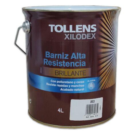 BARNIZ ALTA RESISTENCIA AL AGUA BRILLANTE INTERIOR 4 LT