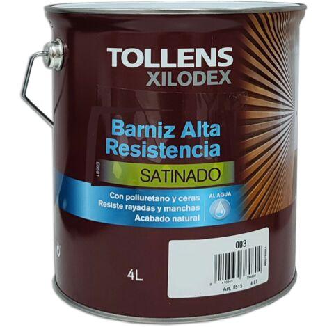 BARNIZ ALTA RESISTENCIA AL AGUA SATINADO INTERIOR 4 LT