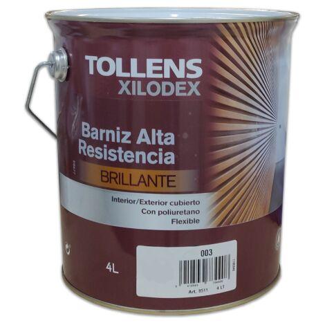 BARNIZ ALTA RESISTENCIA BRILLANTE INTERIOR 4 LT