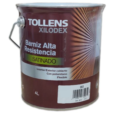 BARNIZ ALTA RESISTENCIA SATINADO INTERIOR 4 LT