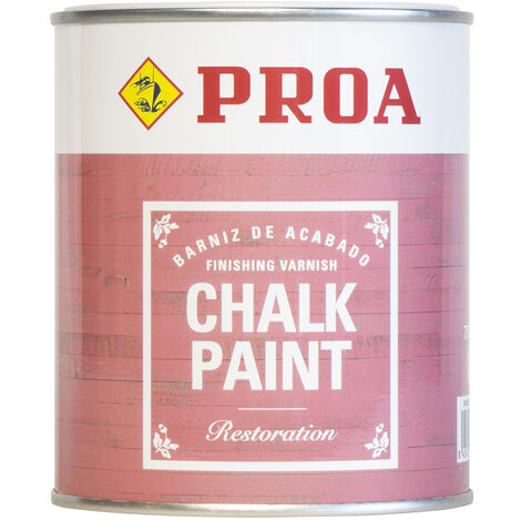 BARNIZ CHALK PAINT PROA 750 ml, Transparente 0,75lts