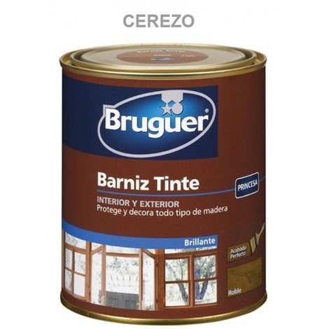 Barniz mad bri. 250 ml cere int/ext sint. bruguer