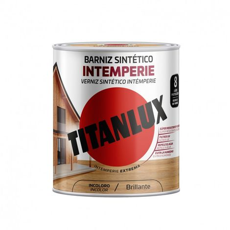 Barniz mad bri. 250 ml inc. sint intemperie ext. titanlux