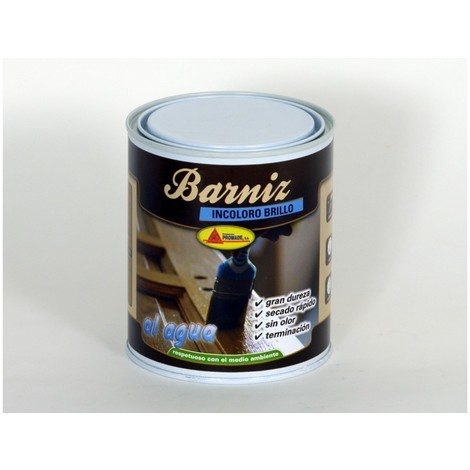 Barniz mad bri. 375 ml inc. int. agua promade