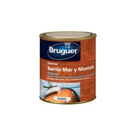 Barniz Mad Bri. 750 Ml Inc. Ext. Sint. Mar, Montaña Bruguer
