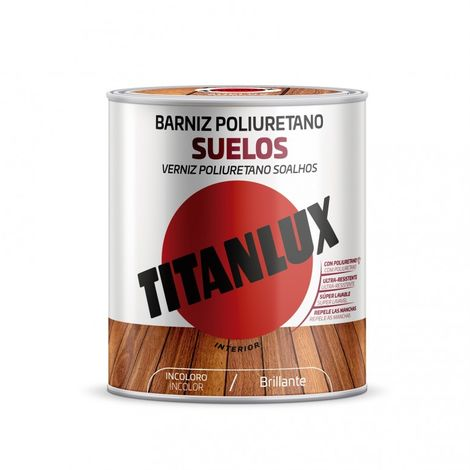 Barniz mad bri. 750 ml inc. poliu. suelos int titanlux
