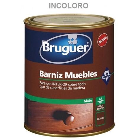 Barniz mad mate 750 ml inc. int. sint. muebles bruguer