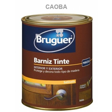 Barniz Mad Sat. 250 Ml Cao Int/ext Sint. Bruguer