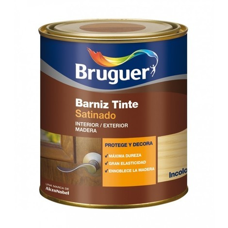 Barniz mad sat. 250 ml inc. int/ext sint. bruguer