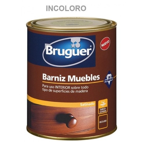 Barniz mad sat. 750 ml inc. int. sint. muebles bruguer
