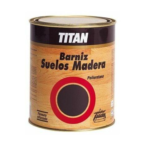 Barniz Madera Brillante 1 Lt Incoloro Interior Poliuretano Suelo Madera Titan