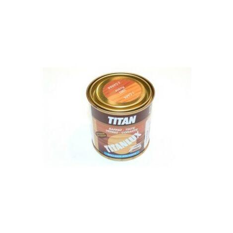 Barniz Madera Brillante 125 Ml Roble Interior/Exterior Sintetico Titanlux Titan