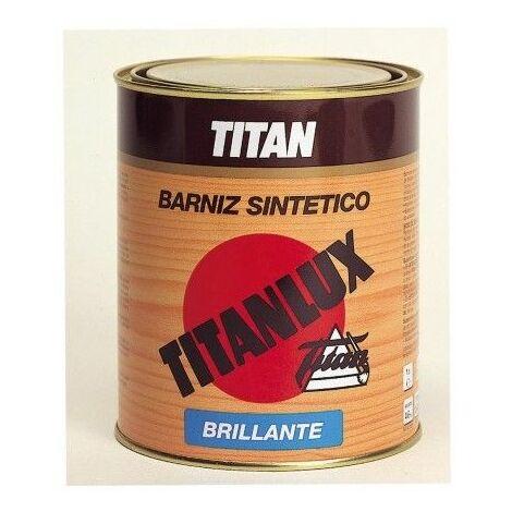 Barniz Madera Brillante 250 Ml Incoloro Interior/Exterior Sintetico Titanlux Titan