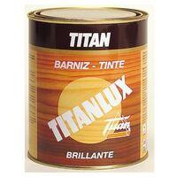 Barniz Madera Brillante 250 Ml Nogal Interior/Exterior Sintetico Titanlux Titan
