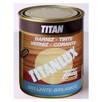 Barniz Madera Brillante 250 Ml Roble Interior/Exterior Sintetico Titanlux Titan
