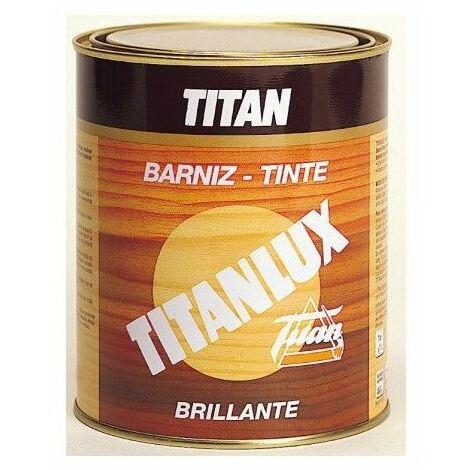 Barniz Madera Brillante 500 Ml Roble Interior/Exterior Sintetico Titanlux Titan