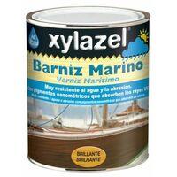 Barniz Madera Brillante 750 Ml Incoloro Base Agua Marino Xylazel
