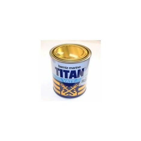 Barniz Madera Brillante 750 Ml Incoloro Exterior Alquidico Yate Titan
