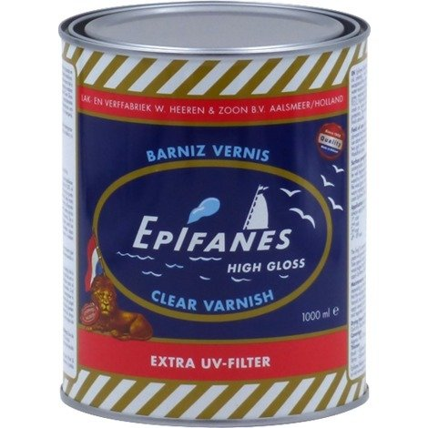 Barniz marino High gloss Clear Vanish 1L Epifanes