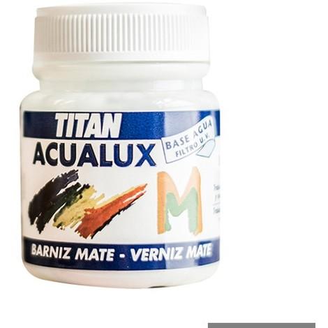 Barniz Mate Acualux Titan