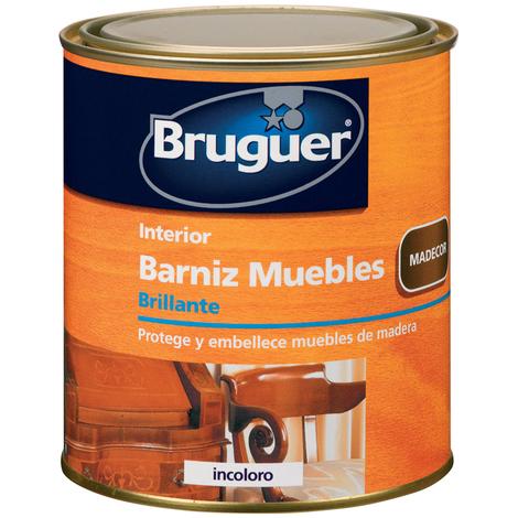 Barniz Muebles Br Incoloro - BRUGUER - 5160542 - 750 ML
