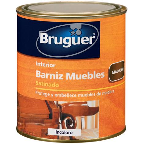 Barniz Muebles Sat Incoloro - BRUGUER - 5160544 - 250 ML