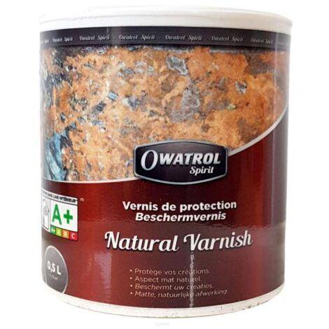 BARNIZ NATURAL MATE OWATROL 0,5 LT