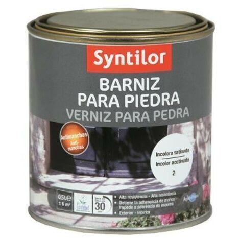 BARNIZ PARA PIEDRA 0,5 L. INCOLORO SATINADO